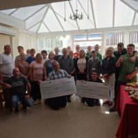 Goldcrest donation celebration